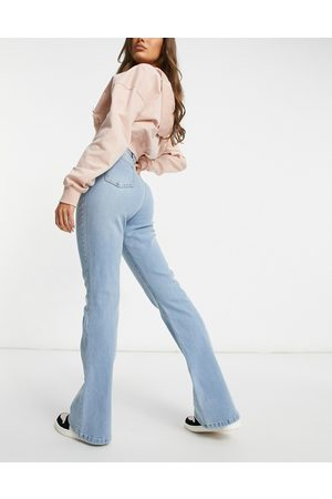 I saw it first Flare jean in washed blue