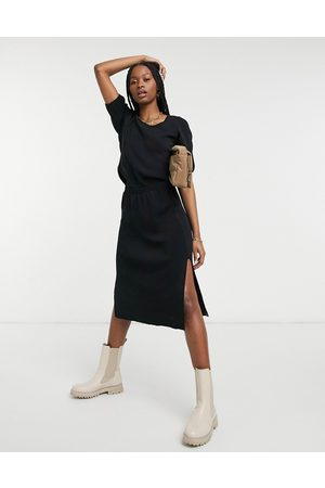 Y.A.S Knitted midi skirt co