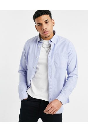 Selected Oxford shirt in light blue
