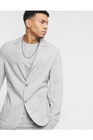ASOS Skinny soft tailored blazer in grey