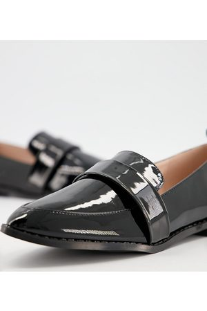 Raid Mujer Flats - Norah flat shoes in black patent