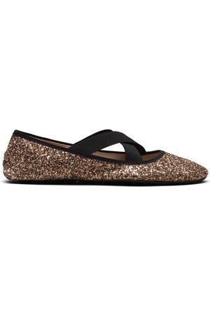 adidas Glitter ballerina shoes