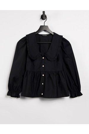 adidas Collared shirt in black