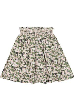 BONPOINT Nouméa printed cotton skirt