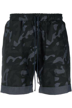 Alchemy Shorts deportivos con motivo militar