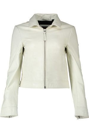 Superdry Chaqueta Down Town Leather M Off White