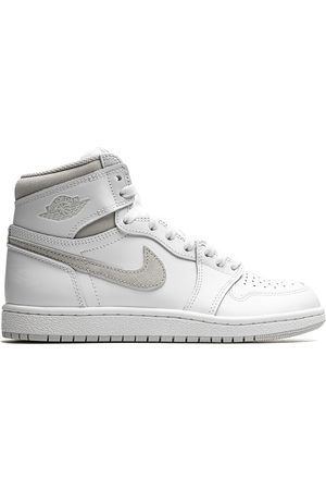 Jordan Hombre Tenis - Tenis Air 1 Retro High '85 Neutral Grey