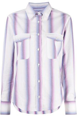 Isabel Marant Camisa a rayas de manga larga