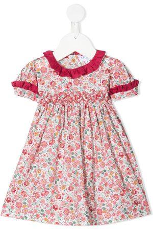 Siola Vestido con estampado floral y volantes