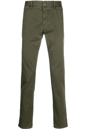 Incotex Pantalones rectos con pretina elástica