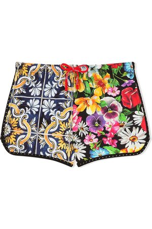 Dolce & Gabbana Shorts cortos con estampado gráfico