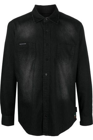 Philipp Plein Camisa de mezclilla con botones