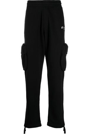 OFF-WHITE Pants con logo estampado
