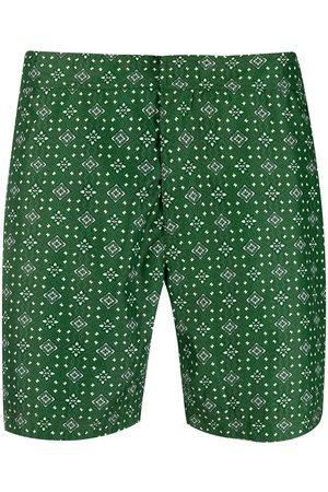 PENINSULA SWIMWEAR Hombre Shorts - Shorts de playa con motivo geométrico