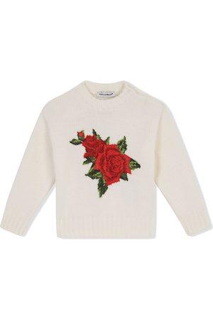 Dolce & Gabbana Suéteres - Suéter con detalle tejido