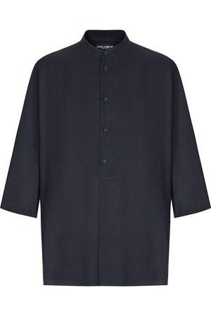 Dolce & Gabbana Camisa manga corta sin cuello