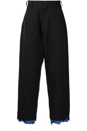 Sulvam Hombre De vestir - Pantalones anchos