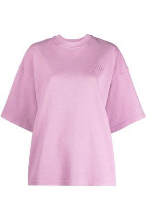 The Attico Camiseta con cuello redondo