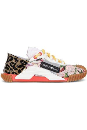 Dolce & Gabbana Mujer Tenis - Tenis bajos con diseño patchwork