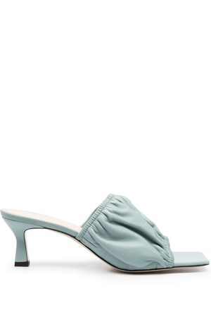 Wandler Mujer Planas - Slip-on leather sandals