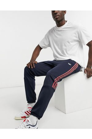 adidas SPRT track joggers in ink blue