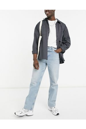 ASOS Hombre Rectos - Relaxed jeans in vintage light wash