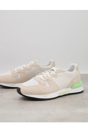 PUMA Mirage Mox Infuse trainers in off white and green