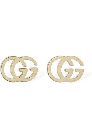 "Gucci Pendientes ""gg"" De 18kt"