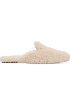 "Aquazzura Zapatos Mules ""relax"" De Shearling 10mm"