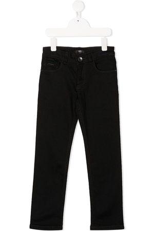 HUGO BOSS Jeans rectos con logo