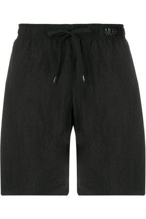Moschino Hombre Shorts - Shorts de playa con letras del logo