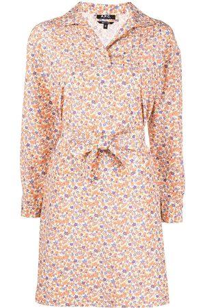 A.P.C. Mujer Estampados - Vestido floral Melissa