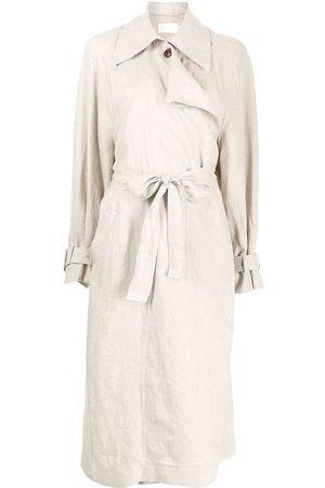 Low Classic Mujer Gabardinas - Gabardina con panel drapeado