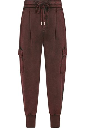 Dolce & Gabbana Hombre Cargo - Pantalones cargo de corte tapered