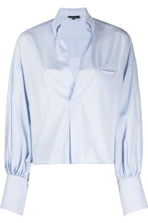 JEJIA Camisa con escote pronunciado