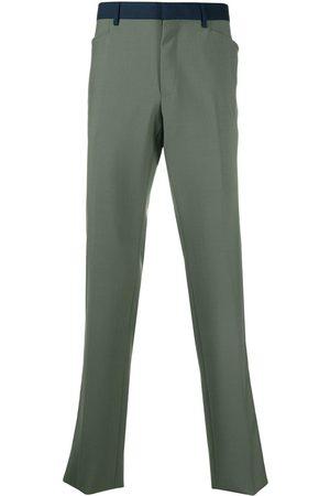 Lanvin Pantalones de vestir con rayas laterales