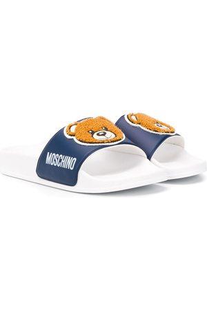Moschino Niña Flip flops - Flip flops con oso estampado