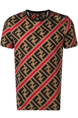 Fendi Playera con logo FF estampado