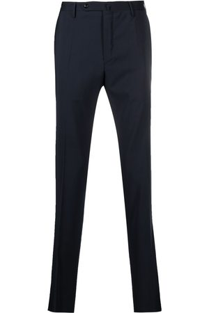 Incotex Slim-cut virgin wool trousers