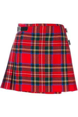 Christopher Kane Falda Royal Stewart a cuadros escoceses