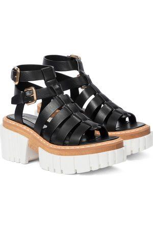 Stella McCartney Emilie faux leather platform sandals