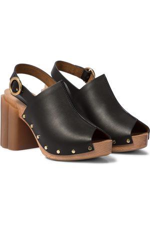 Stella McCartney Daisy faux leather platform sandals