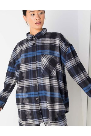Daisy Street Oversized shirt in vintage check co