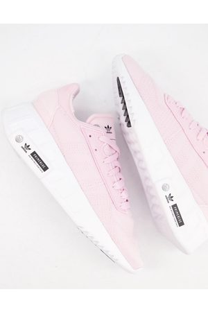 adidas Geodiver sustainable trainers in clear pink