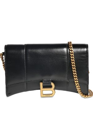 Balenciaga Mujer Carteras y Monederos - Leather Hour Wallet W/chain