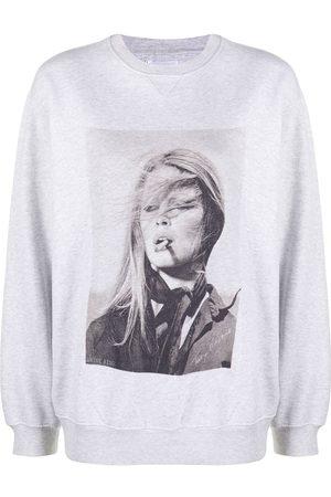ANINE BING Mujer Suéteres - Suéter con estampado de fotografía