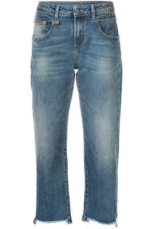 R13 Mujer Rectos - Jeans capri rectos