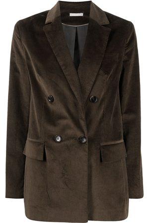 12 STOREEZ Mujer Sacos - Blazer oversize con doble botonadura