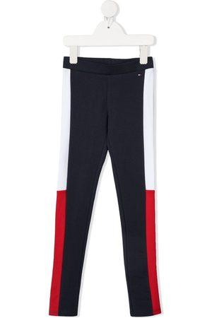 Tommy Hilfiger Niña Leggings y treggings - Pants con franjas laterales