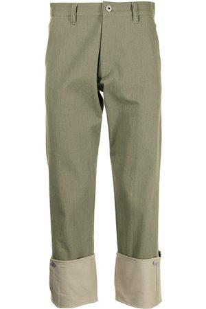 Ports V Pantalones con dobladillo vuelto
